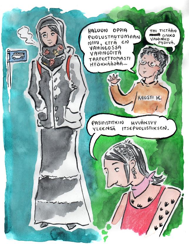 feministinen itsepuolustus 4