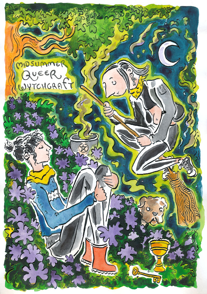 midsummer queer witchcraft