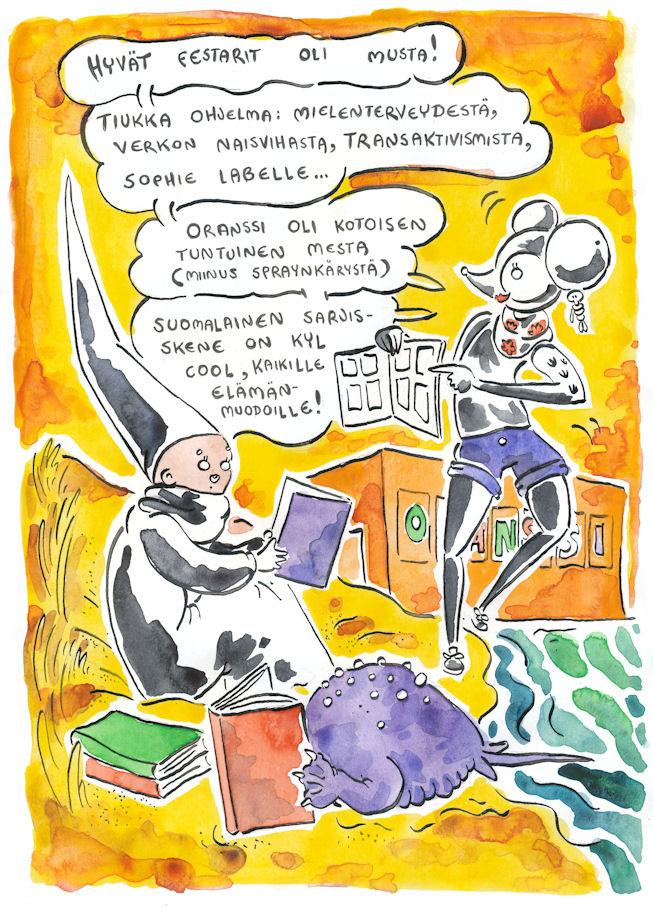 sarjakuvafestivaalit