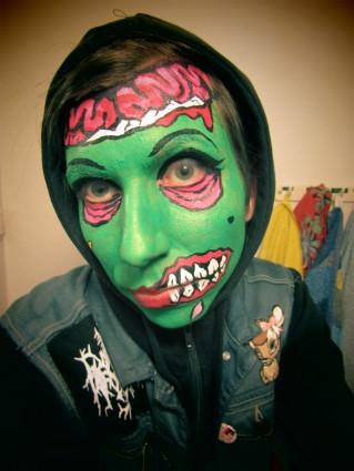 pieni zombi