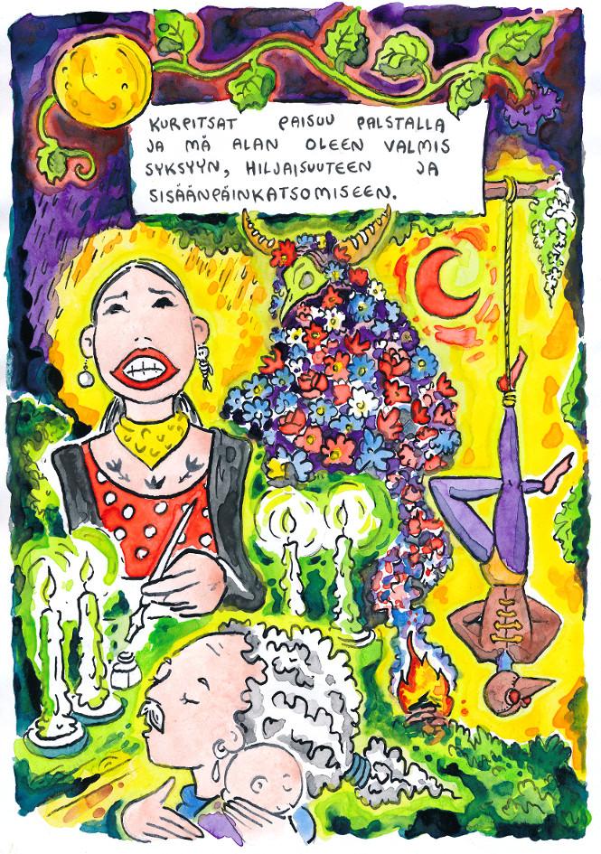 occult flamenco